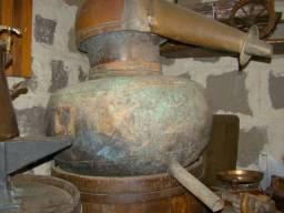 Alambique em cobre antigo