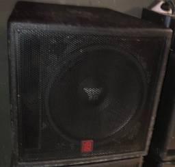 Par de caixa Sub Oversound 18