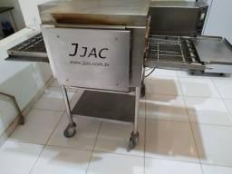 Forno a gás de esteira JJAC 50-28