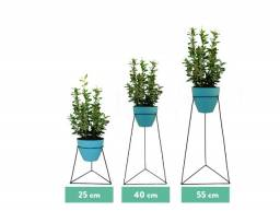 Suportes Para Plantas Aramado Coleção Triângulo P-M-G