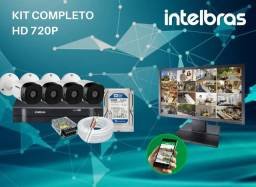 Título do anúncio: 4 cameras intelbras instalada