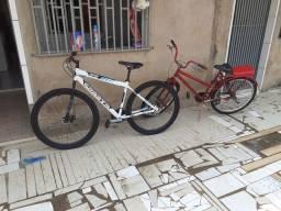 Bicicleta no valor de 600 reais