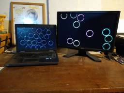 HP I5 2° Geração 64bits 6GB + monitor