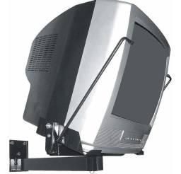 Suporte para TV tubo antiga e microondas de 14 até 20 polegadas