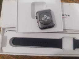 Apple watch series 3 42mm GPS + celular 4g NOVO