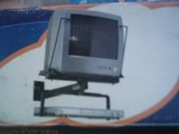 Suporte TV / DVD - Lacrado na Caixa com Parafusos