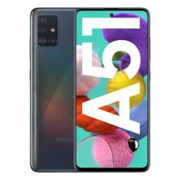 A51 Smartphone Samsung - Preto! 128GB/4G/6.5 Tela!