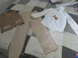 Roupa formal infantil veste até 7/8 anos