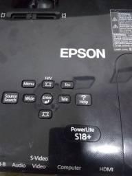 Projetor Epson s18+ Powerlite,valor a negociar,aceito propostas