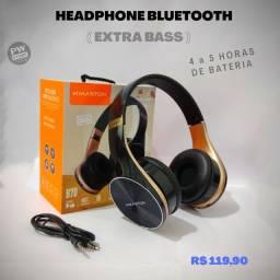 Headphone bluetooth Extra Bass - Loja PW STORE