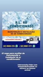 Instalaçao e Manutenção de ar condicionado