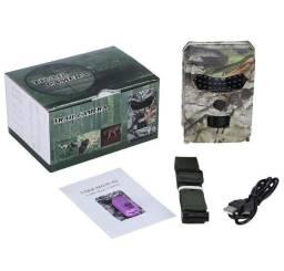 Câmera de caça automática a prova de chuva infravermelha visão noturna