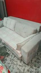 Sofá cama Super grande de camurça