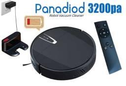 Aspirador Robô Panadiod M2 c/ Controle Remoto 3200pa Sucção Muito forte!