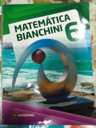 Vendo livro de matemática do 6º ano do Edwaldo Bianchini.