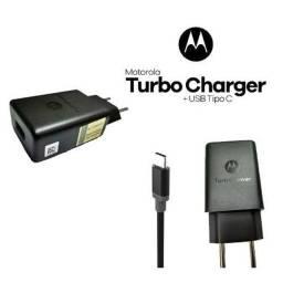 Carregador Moto G7 Play Moto One Moto G6 Plus Motorola Turbo