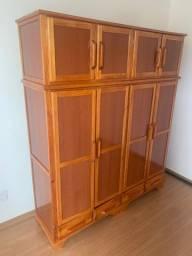 Guarda roupas 4 portas madeira