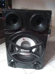 Caixa de Som Amplificada - HS SOUND Brav