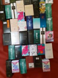 Promoção kit com 10 perfumes pequenos variados jequiti