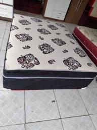 CAMA BOX CASAL DE MOLAS NOVA SUPER CONFORTÁVEL ENTREGO 450