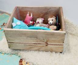 Caixa para Brinquedos - Opção de adesivagem personalizada