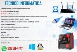 Técnico Informática  - Manutenção de Computadores.