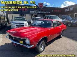Ford Maverick Sl 6c de Plaqueta 1974 (Dodge F100 F350 Opala