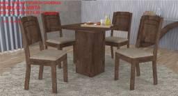 Mesas de jantar com 4 cadeiras em promoção a partir 429.00