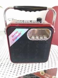 Caixa de som Mp3 USB + Mini caixinha mp3 Usb