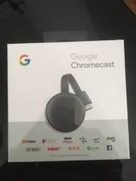 Google Chromecast na caixa