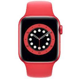 Apple Watch 6 40mm , Silver, Red , Space