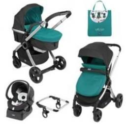 Carrinho para bebê chicco urban kit completo