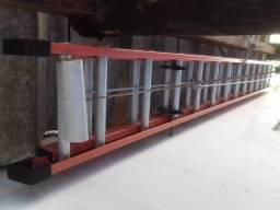 Escada Extensiva de Fibra mede 4,20x 7,20mt estendida (Nova)