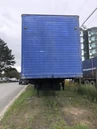 Carreta baú KRONE 15 m