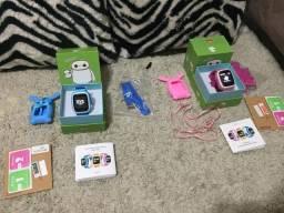 ! Novo Relógio GPS Posicionamento Crianças Da Forma cor da Tela de Toque WIFI SOS com chip