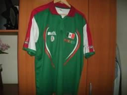 Camisa da Seleção Mexicana - Jogos Paraolímpicos - Lotto
