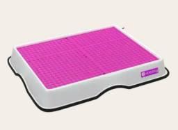 Banheiro Inteligente para Cachorro - Tapete de cor Rosa