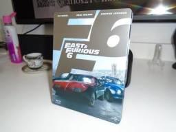 Raro Blu-ray Steelbook Velozes E Furiosos 6