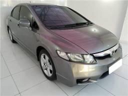 Honda Civic 1.8 lxs 16v flex 4p manual 2010 cinza