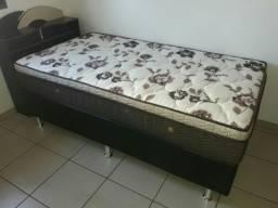 ::: Conjunto Cama Box Colchao Solteirao Ortobom 108x188 Melhor Preço Confira