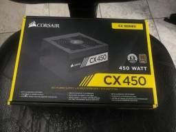 Fonte Corsair CX450 80 Plus
