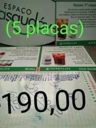 5 Placas Herbalife