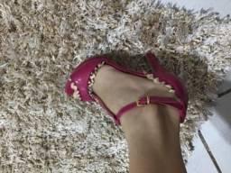 Sandalha colcci rosa numero 34
