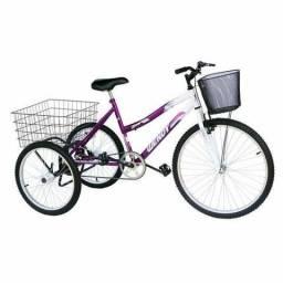 Bicicleta triciculo nova