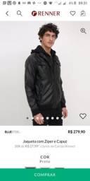 Jaqueta de couro sintético Nova