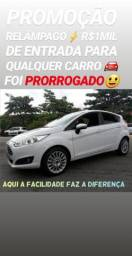 Ford/NEW FIRSTA TITANIUM 2014 AUTOMÁTICO(R$1MIL DE ENTRADA)SÓ NA SHOWROOM AUTOMÓVEIS - 2014