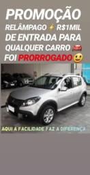 Renault/SANDERO 1.6 STEPWAY_(R$1MIL DE ENTRADA)NA SHOWROOM AUTOMÓVEIS