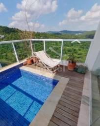 Apartamento para locação com 284m², varanda gourmet, piscina privativa, 3 suítes, e 5 gara