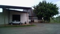 Área na BR-070 5km do trevo do lagarto com Barracão e escritório à venda, 6,5 ha, construç