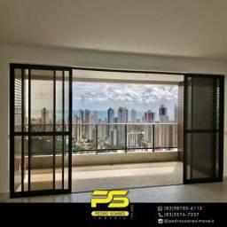 Cobertura com 4 dormitórios à venda, 400 m² por R$ 1.800.000 - Miramar - João Pessoa/PB